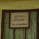 Le projet de 2011, la Gradinita
