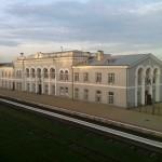 La gare d'Ungheni (à 6h du matin)