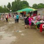 Le marché d'Ungheni