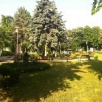 Le parc où nous rencontrions nos amis.